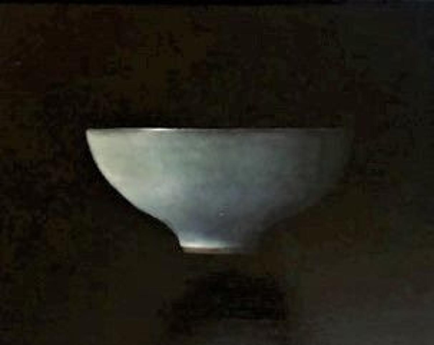 Judith Kuehne. Blue bowl in the distance.