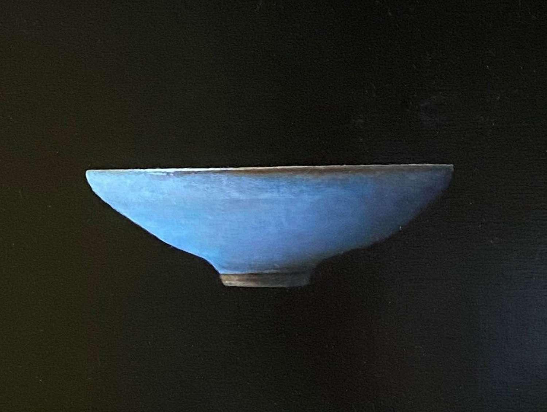 Judith Kuehne. Blue chun bowl.