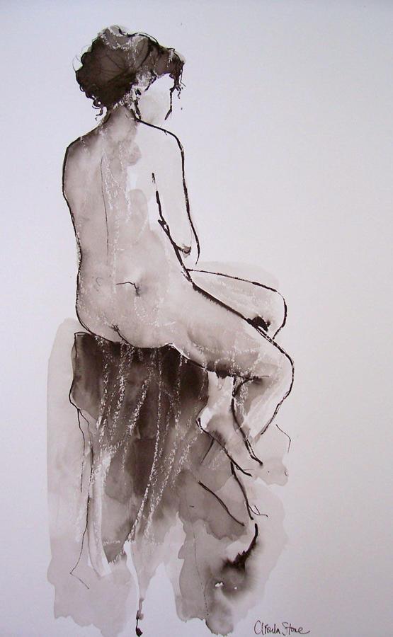 Ursula Stone. Poised.