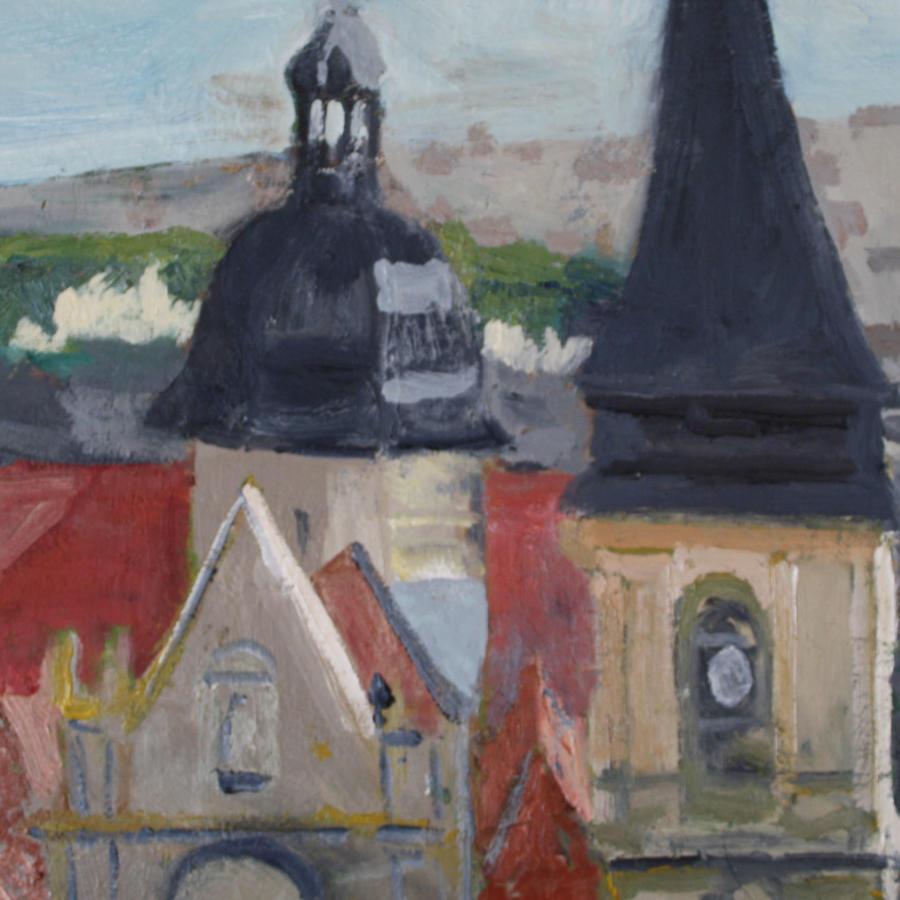 Nick Bush. Dieppe Churches.