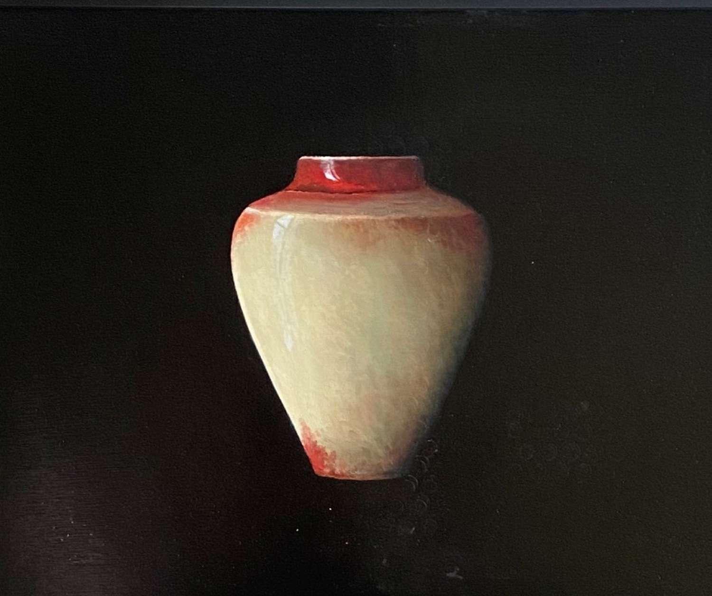 Judith Kuehne. 'Red Copper splashed Chun Canopic Jar 111'