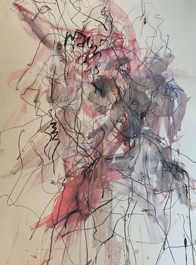 Judith Brenner. Sarita dancing ii.