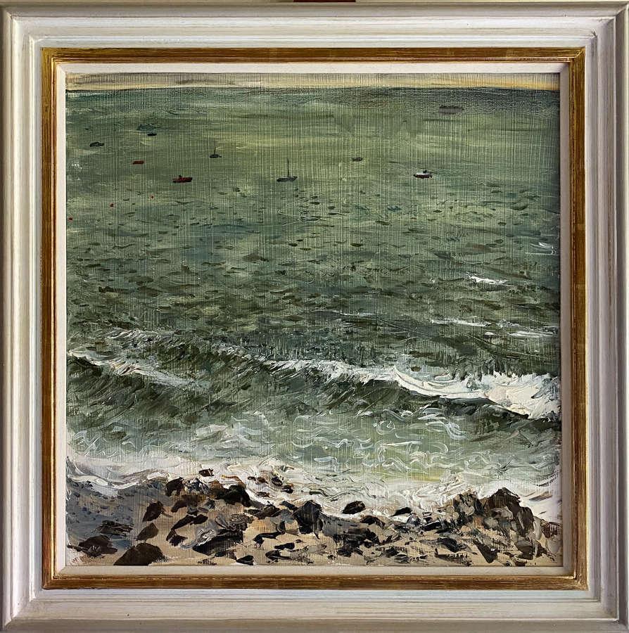 Alex Uxbridge. Stormy weather, The Solent.