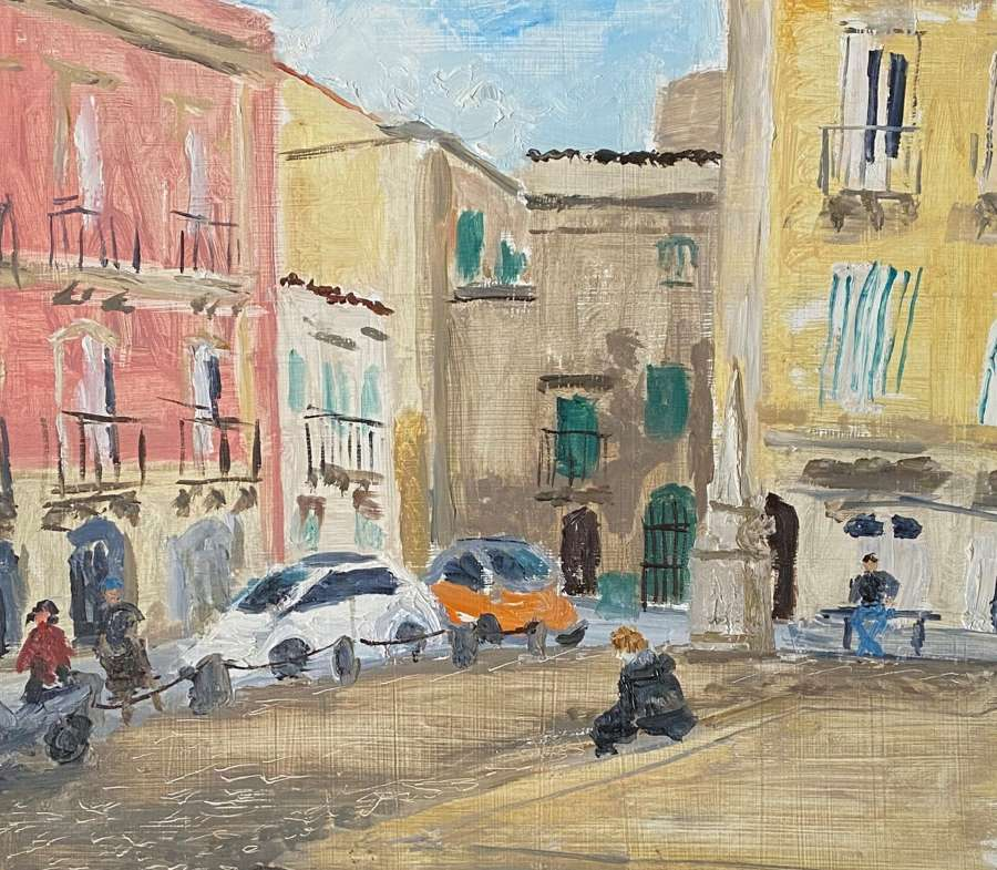 Alex Uxbridge.  'Sicilian Plaza'