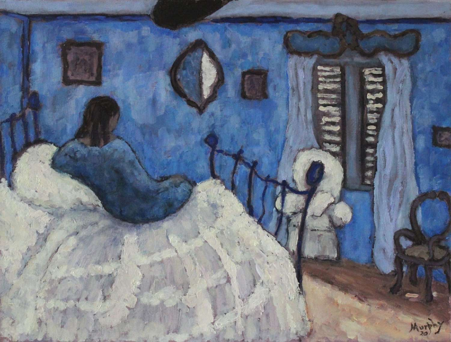 Anthony Murphy. Blue Bedroom