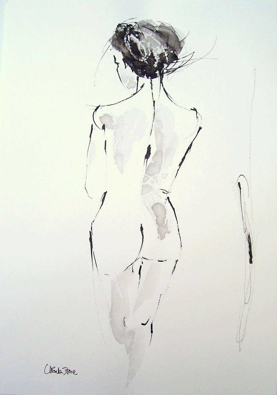 Ursula Stone. Upright
