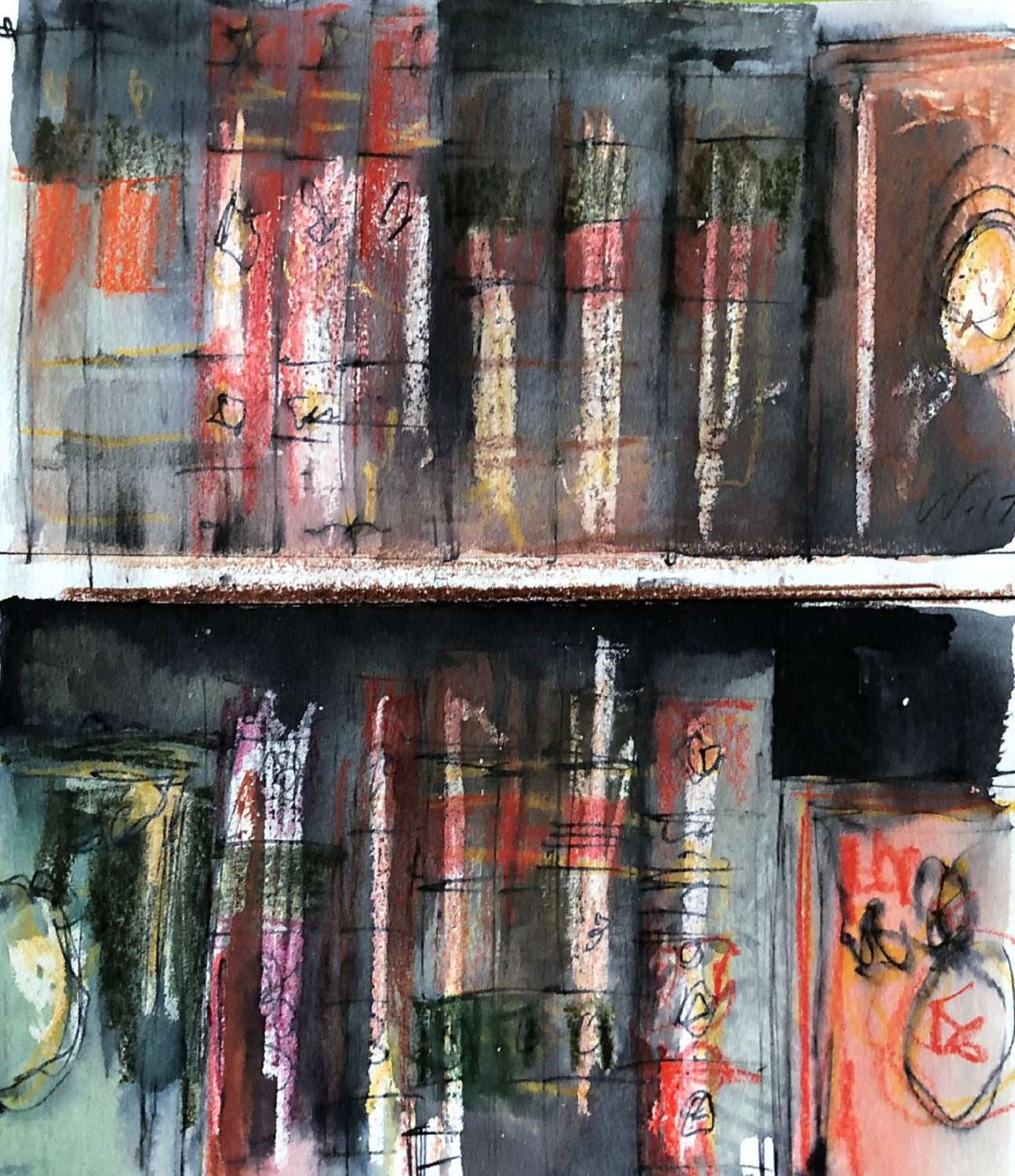 Trevor Newton.  Bookshelf 1.