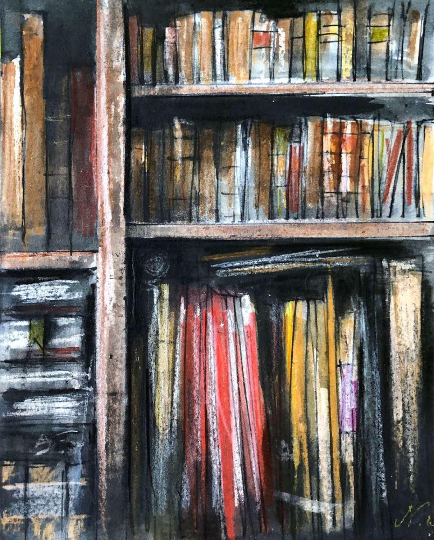 Trevor Newton. Bookshelf 2.