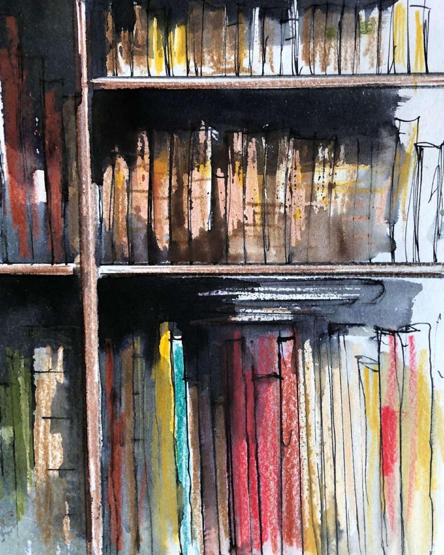 Trevor Newton.  Bookshelf 4.