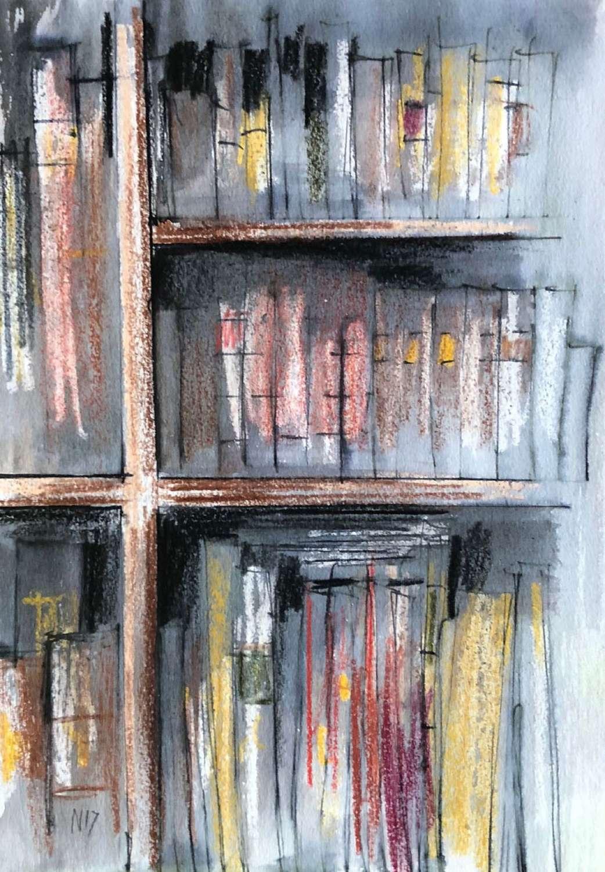 Trevor Newton.  Bookshelf 5.
