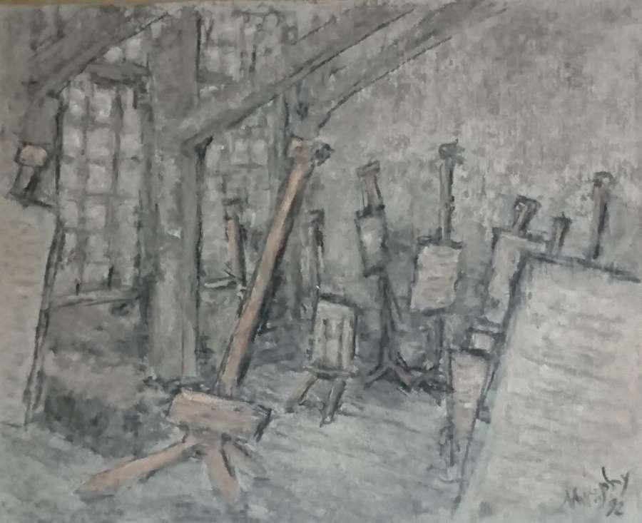 Anthony Murphy.  Art School
