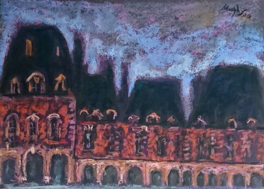 Anthony Murphy.  Place des Vosges.