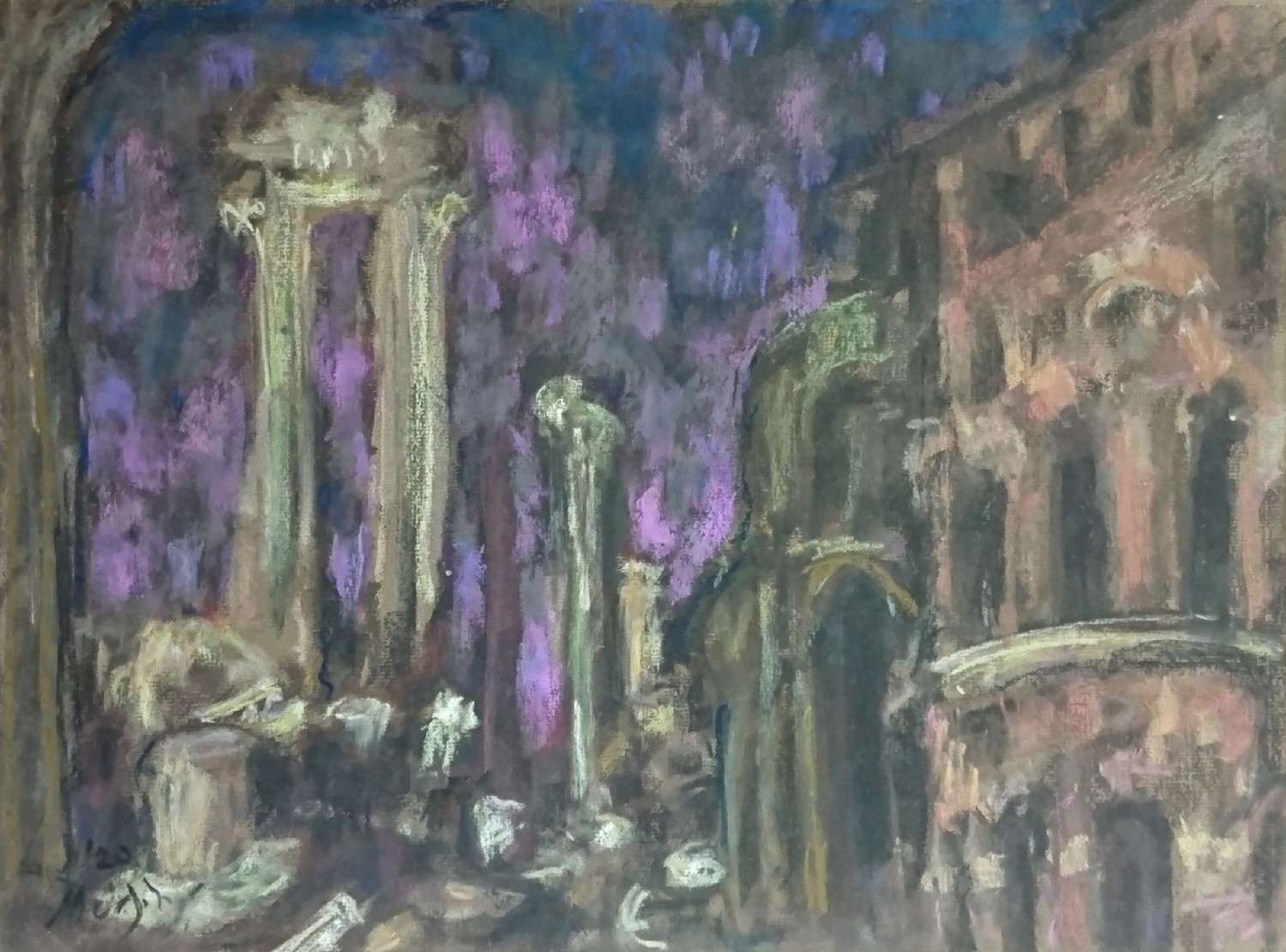 Anthony Murphy.  Rome, the Ruins.