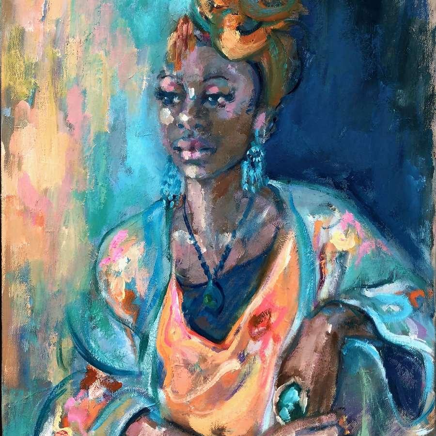 Lindy Dunbar. Silken Robes.