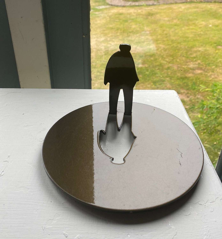 Giles Penny. Cutout man.