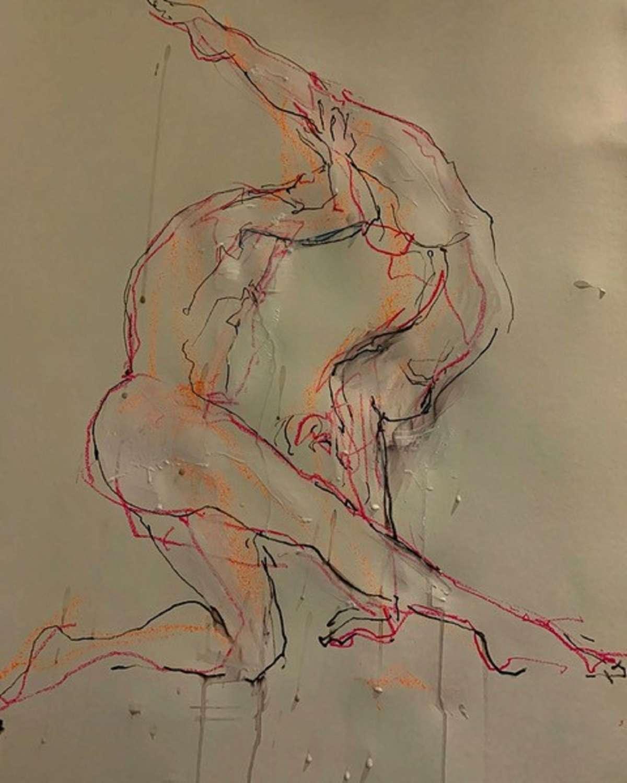 Judith Brenner. Figures in flow.