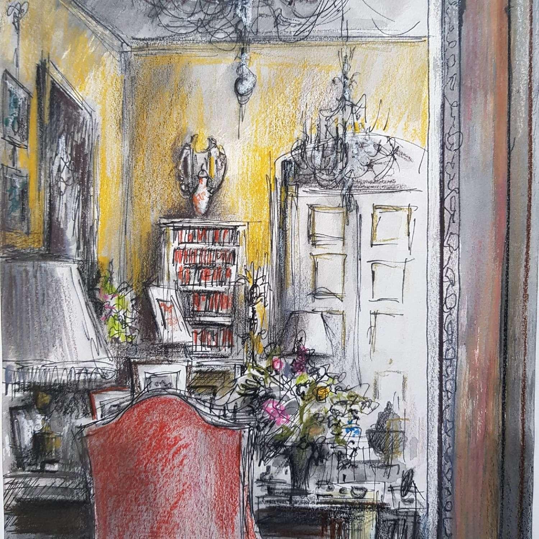Trevor Newton. Nancy Lancaster's Yellow Room 1.