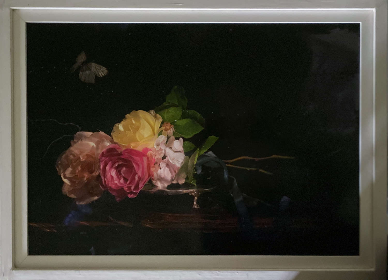 Alexander James. Roses and Butterfly.