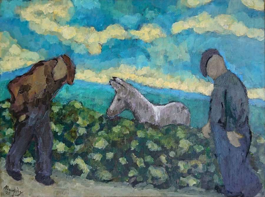 Anthony Murphy. The friendly Donkey
