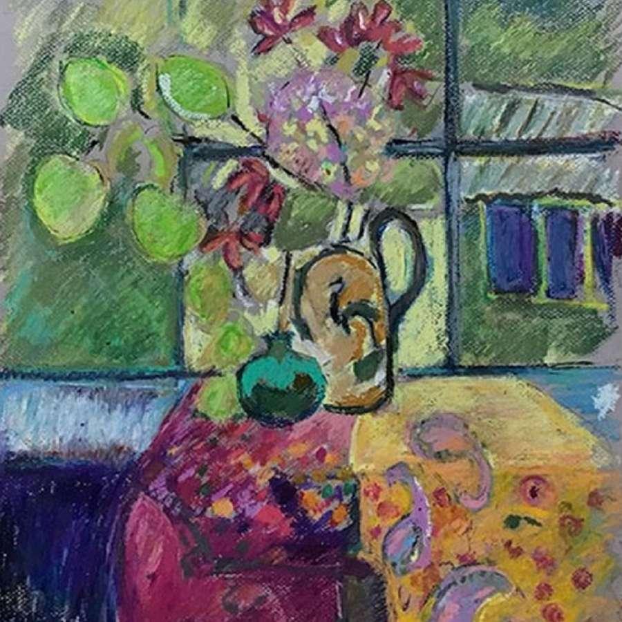 Antonia Ogilvie-Forbes. Green Vase.