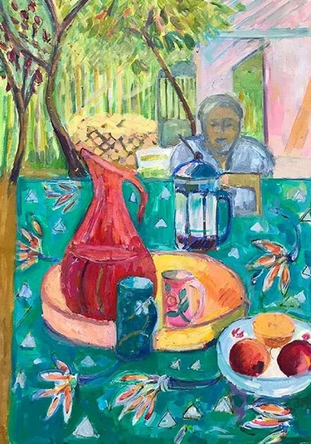 Antonia Ogilvie-Forbes. Garden in France