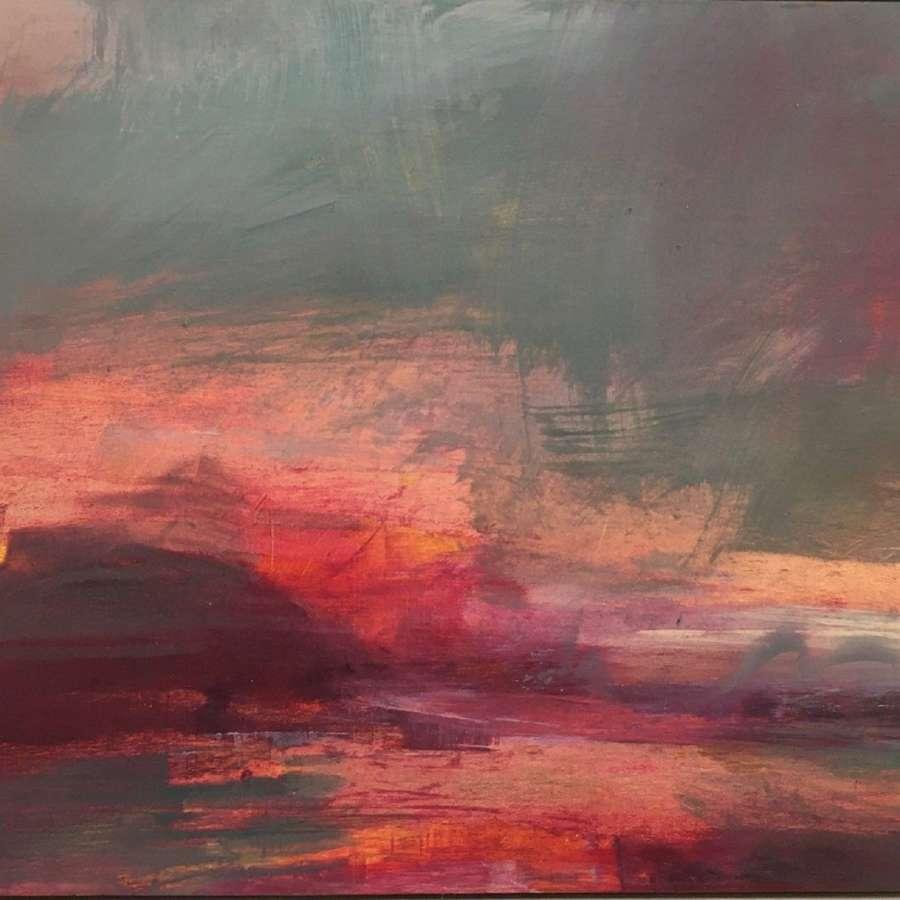 Henrietta Stuart. Late hues over Scottish waters.