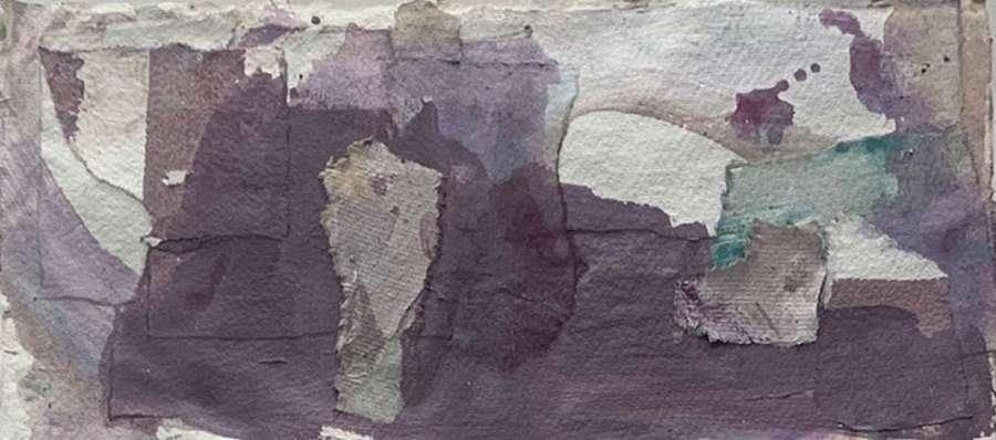 Judith Brenner. The walls of Bagru 1.