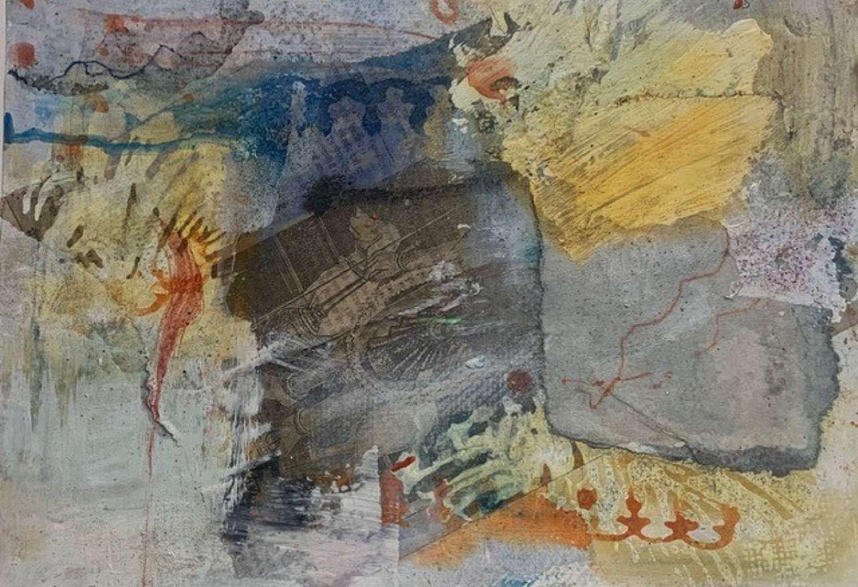 Judith Brenner. Sun over the Bundi Palace 1.
