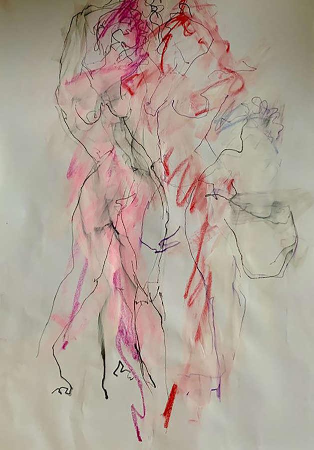 Judith Brenner. Sarita Dancing.