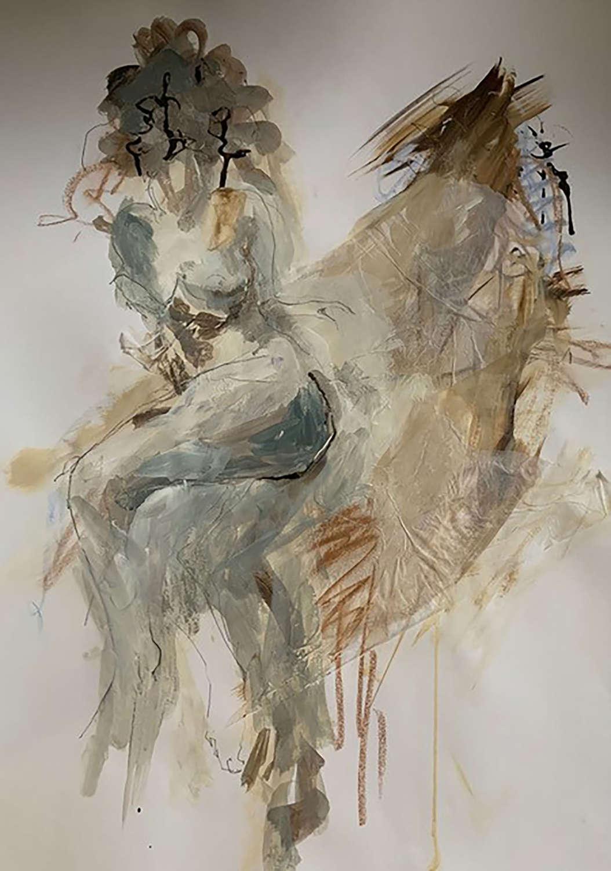 Judith Brenner. Sarita Sitting