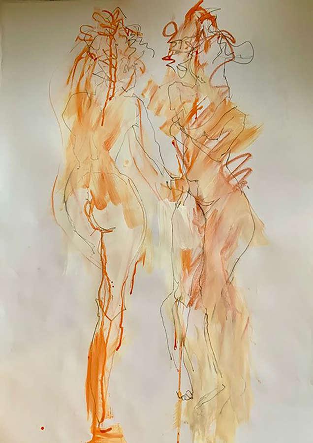 Judith Brenner. Sarita in the Mirror.