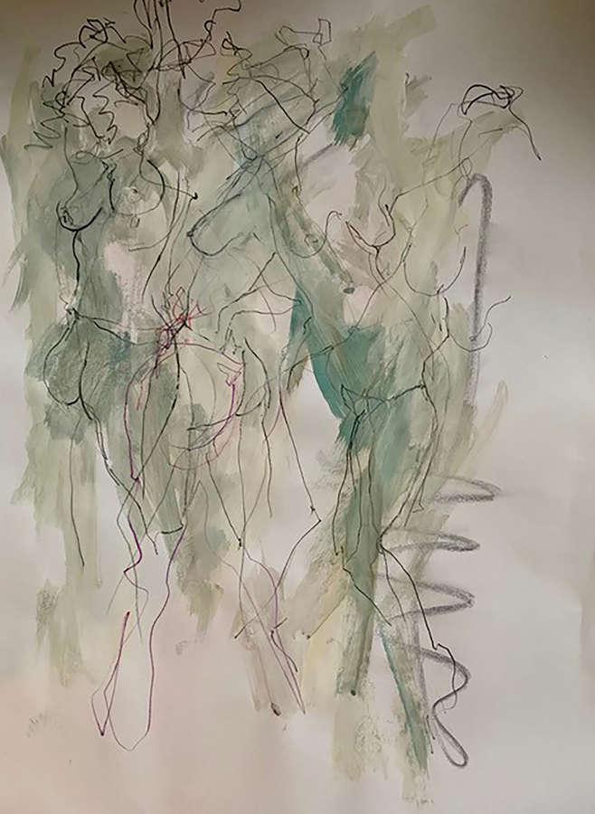 Judith Brenner. Sarita dancing 2.