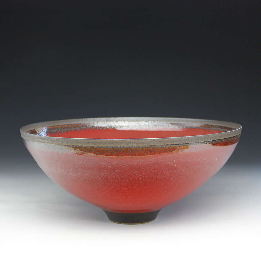 Peter Sparrey. Red Bowl.