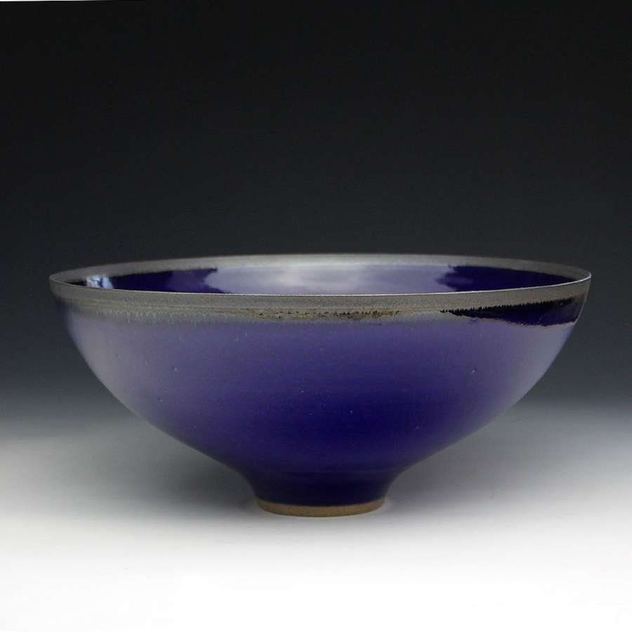 Peter Sparrey. Blue Bowl.