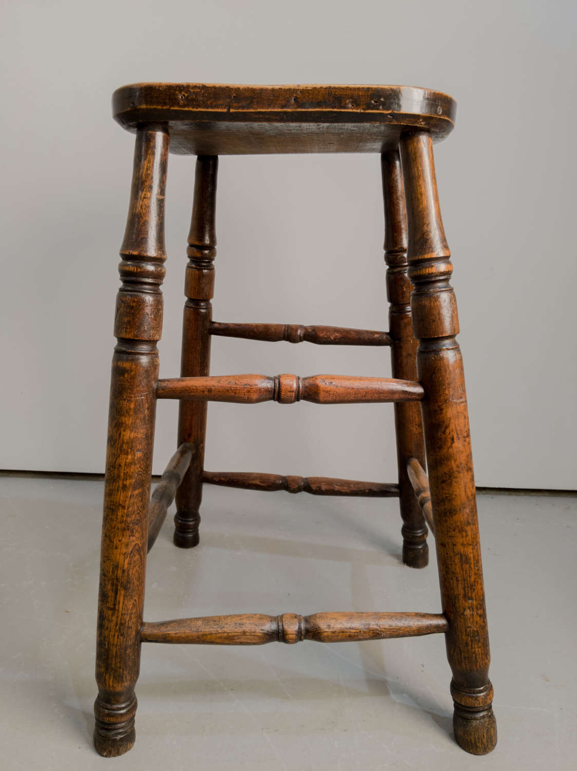 Circa 1890 An English high stool