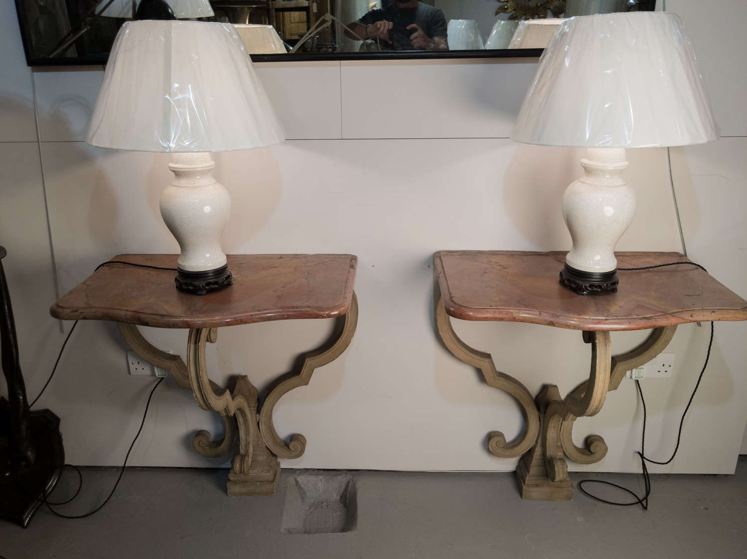 An 18th Century Pair of French Console Tables