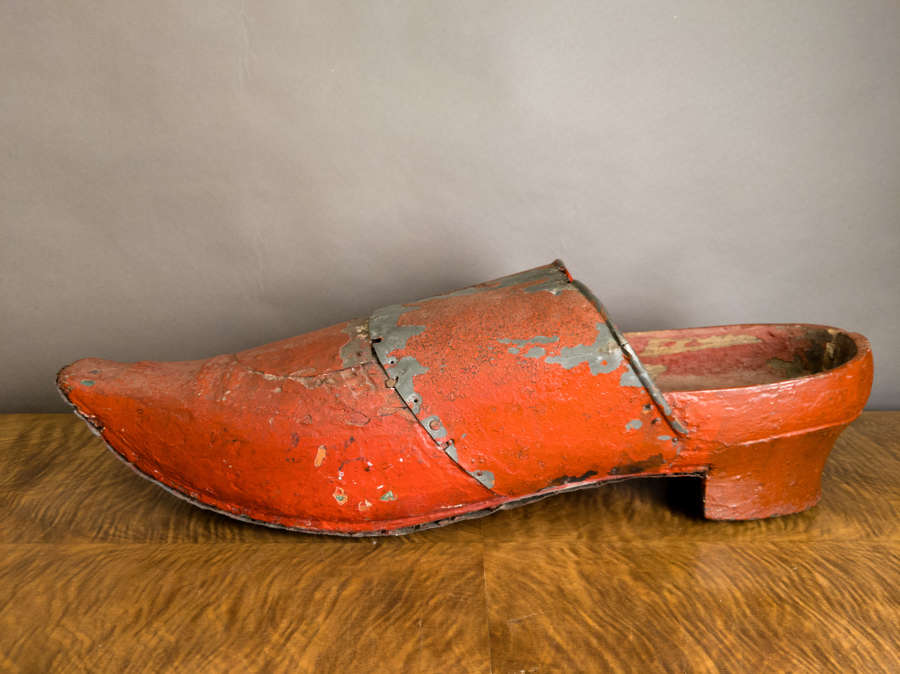 A 19th Century Venetian Shoe Shop Model
