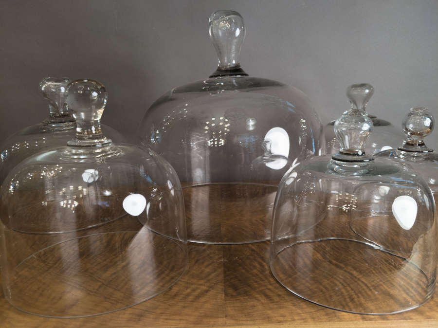 Late 19th Century Flemish Cake or Cheese Domes