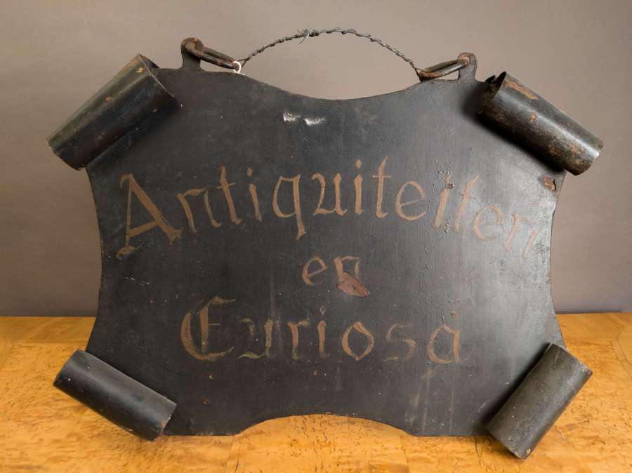 A 19th Century Antique Shop Sign