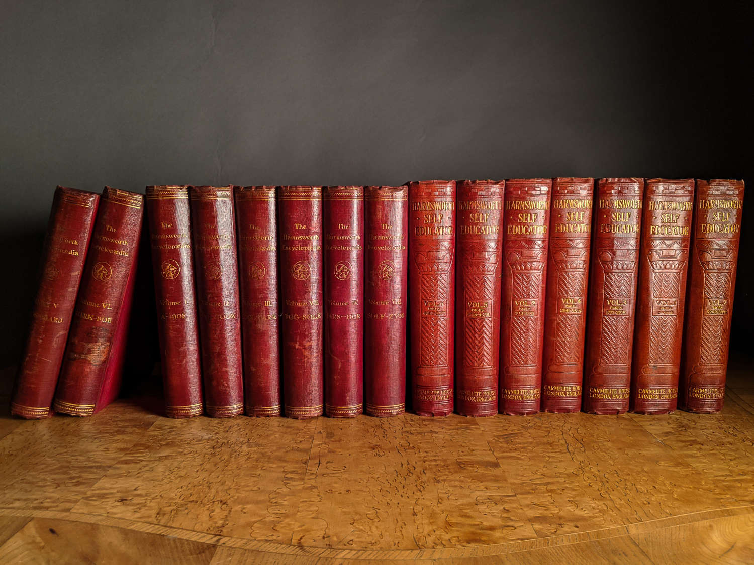 Circa 1900 A Selection of Red Books