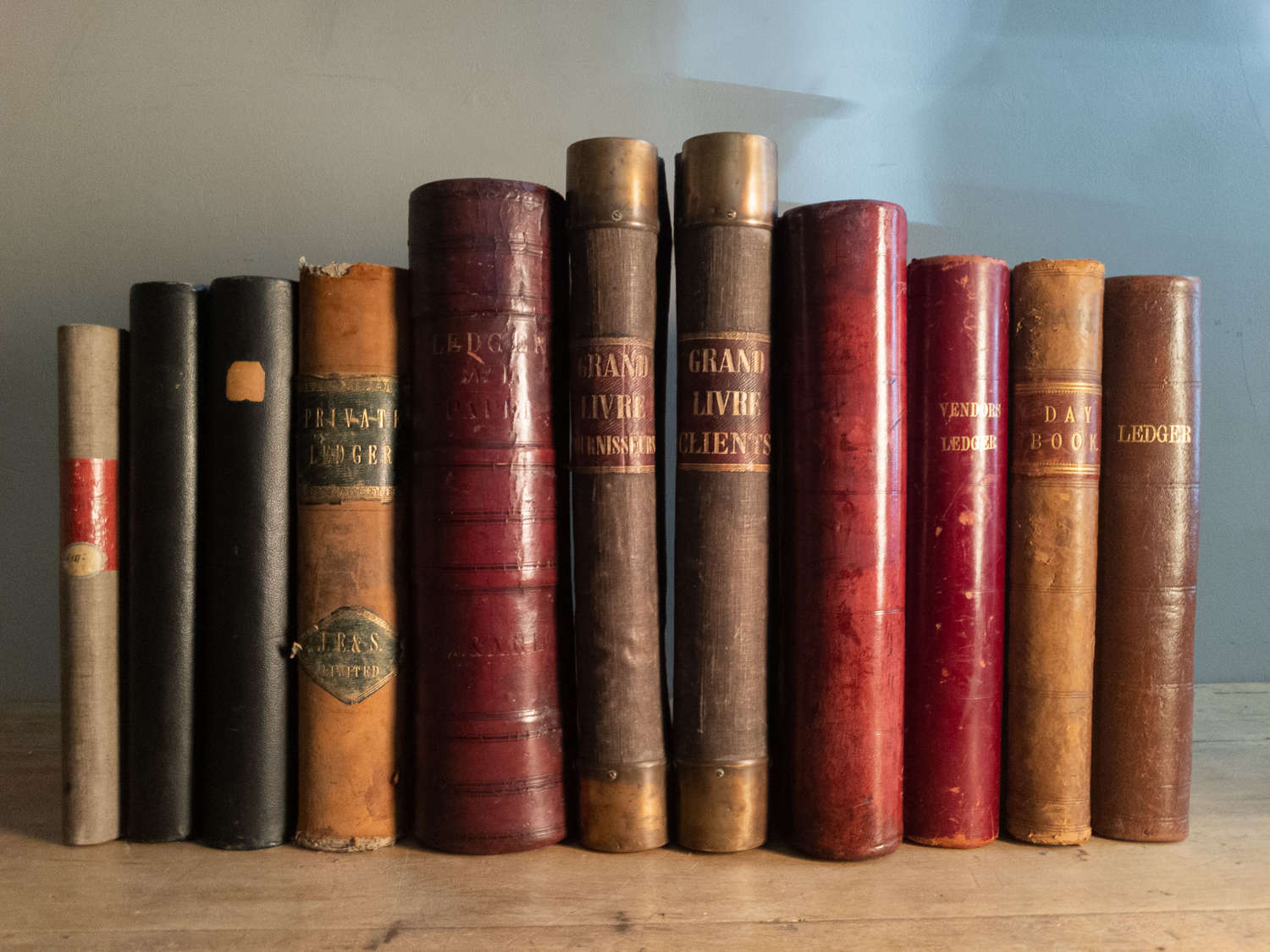 A Selection of Large Scale Ledgers Circa 1890-1930