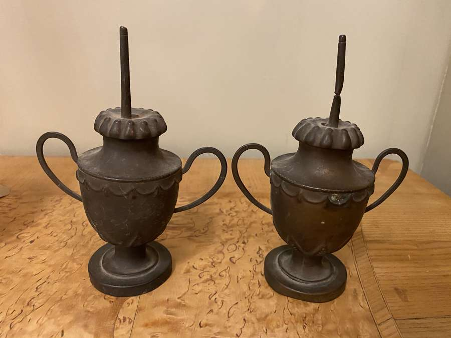 C1780 A Pair of Metal Candle Spikes