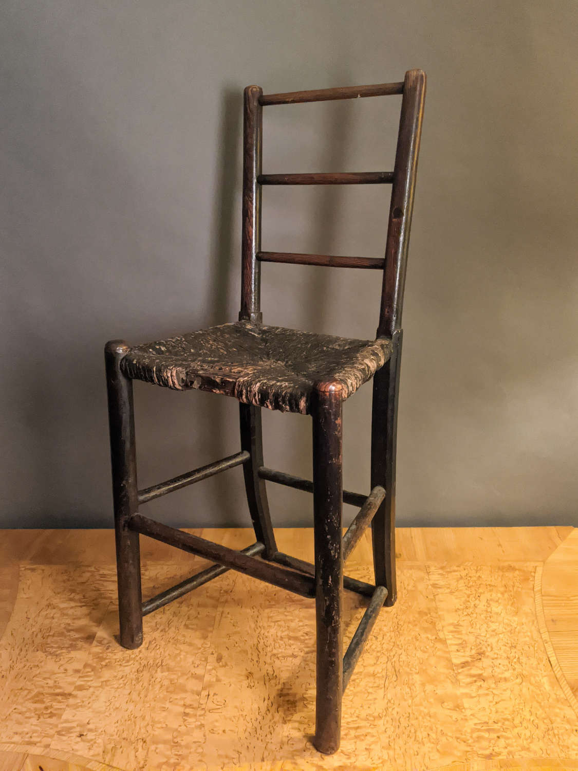 Circa 1850 A Child's Chair
