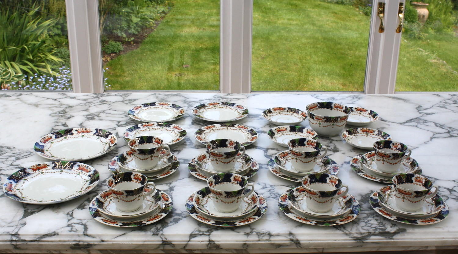 Collection of FJJ Milgrove Bone China