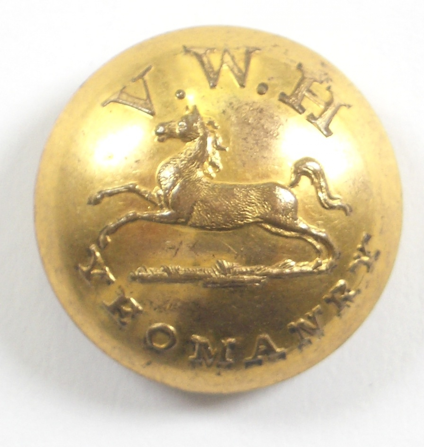 Vale of White Horse Yeomanry button