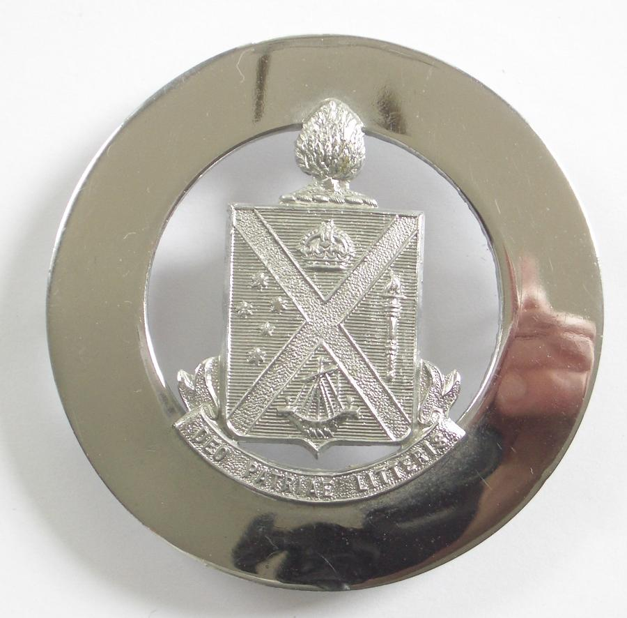 Australian Scotch College Cadets Hat Badge