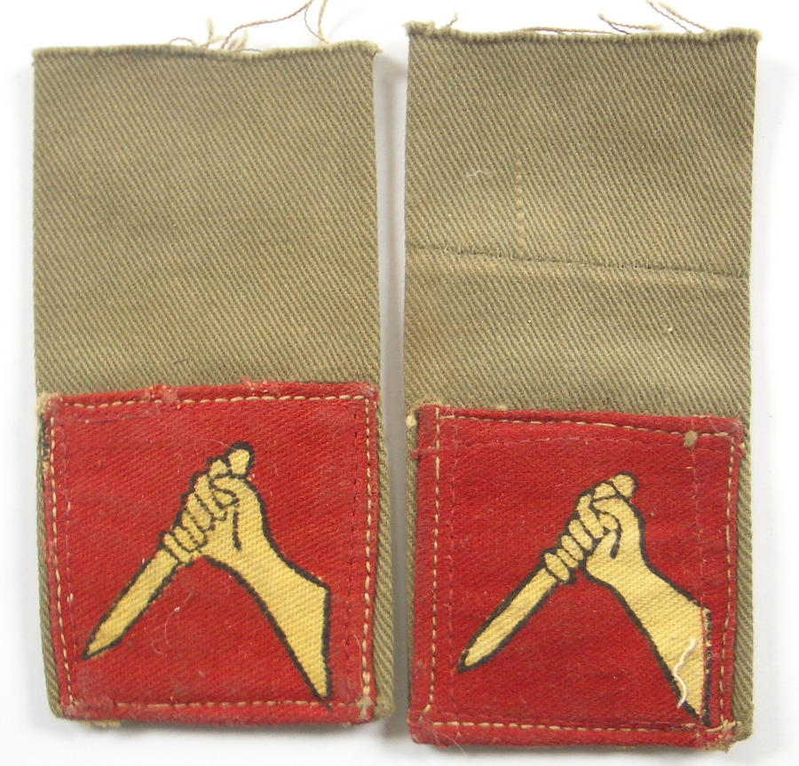 19th Indian Division WW2 formation signs