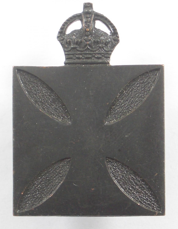 Australian WW1 Chaplain's cap badge