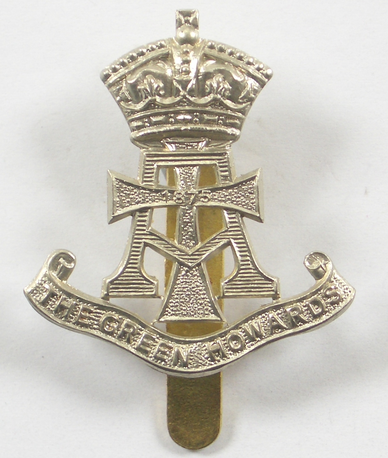 Green Howards cap badge by Firmin