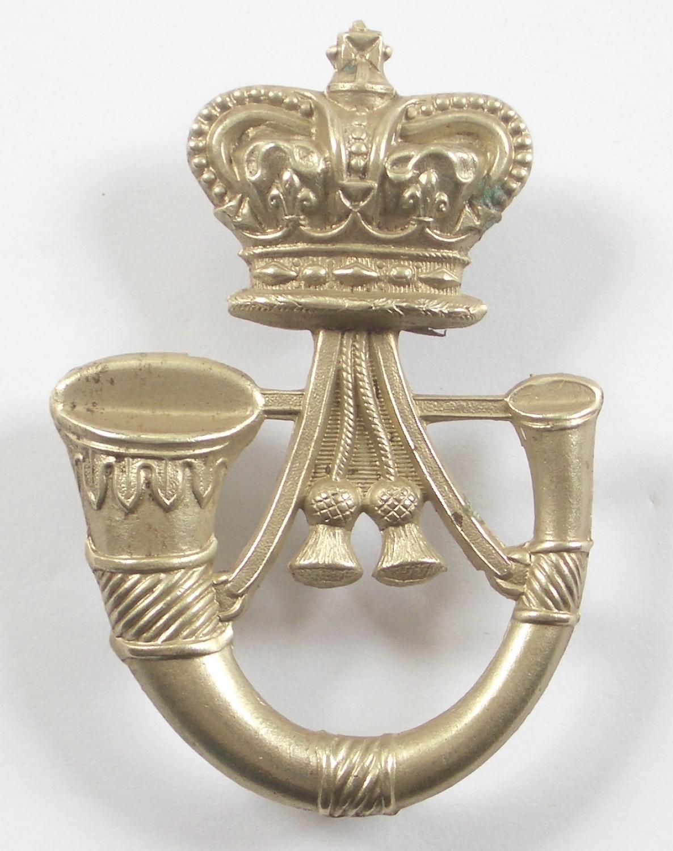 Armagh LI Irish Militia glengarry badge